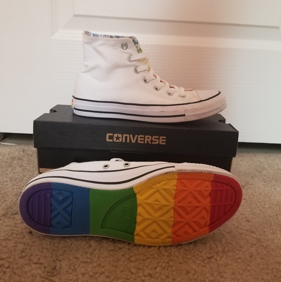 868abd34f8eb Converse Shoes - Converse LGBT Pride High-Top Sneakers